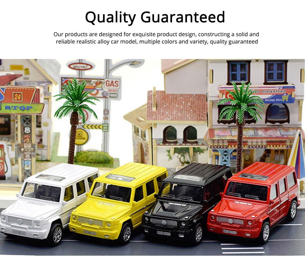 Simulation Alloy Model Car, Mercedes-Benz Off-road Vehicle Model, Children Pull-back Car Toy Model Car 4