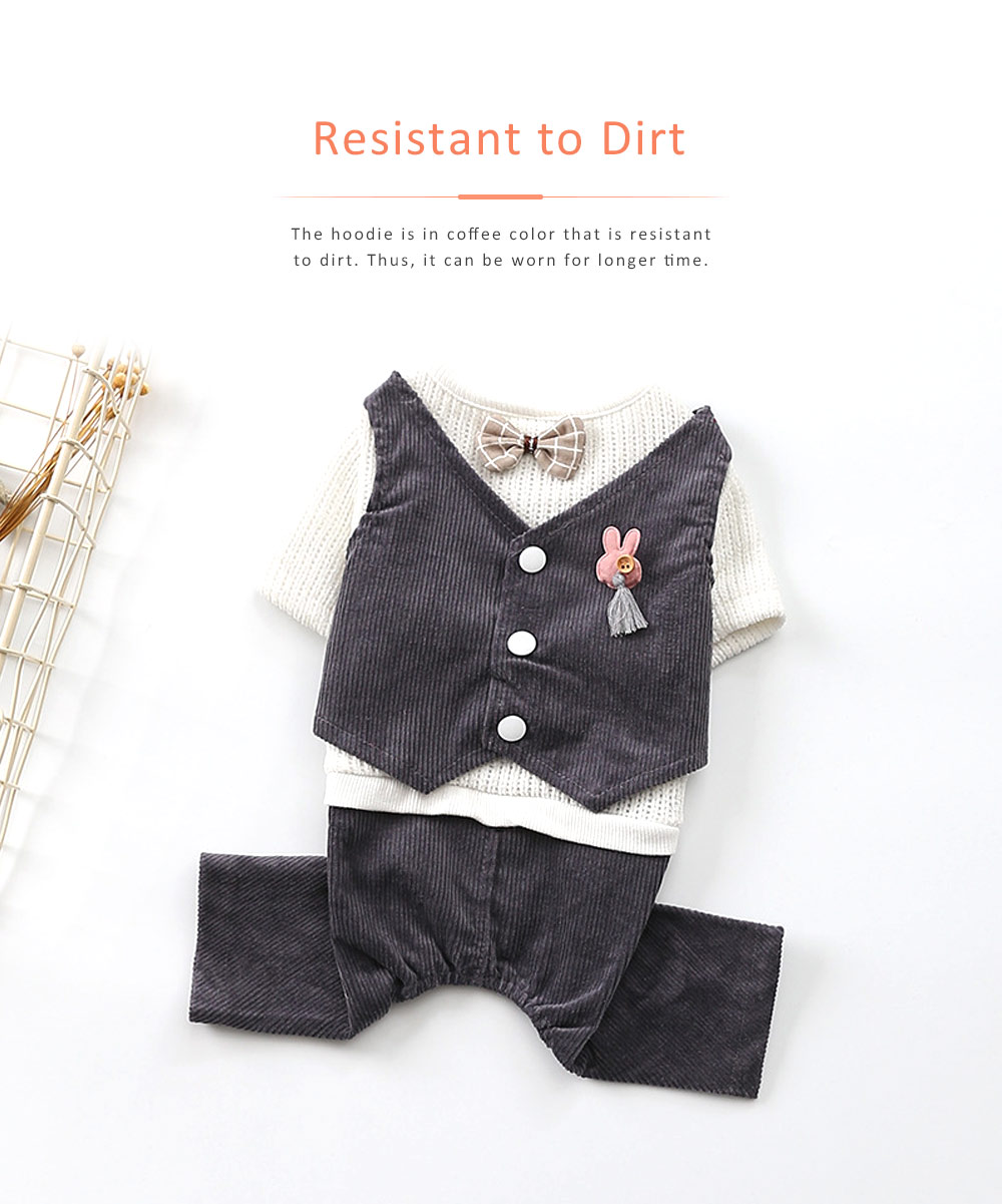 Dog Dressings Four-legged Knitted Fake Two-piece Pet Clothes in Autumn and Winter Pet Clothes 5