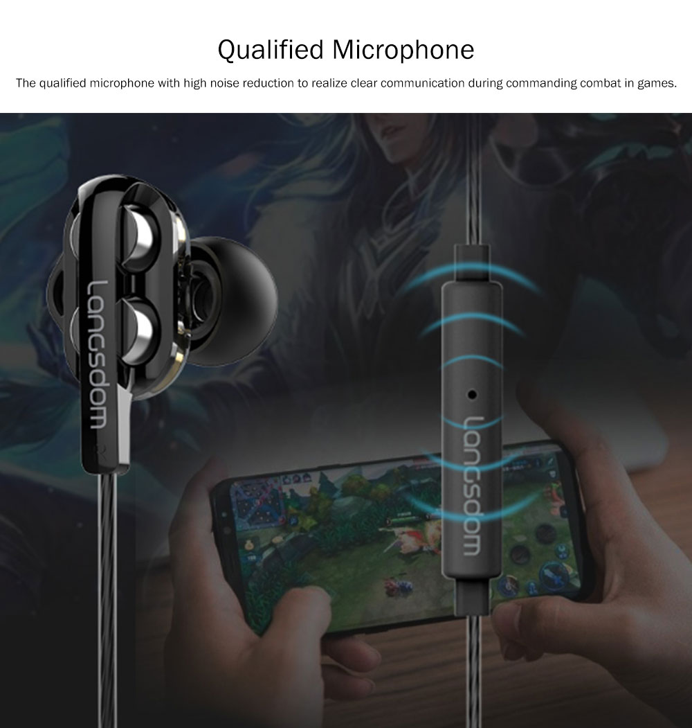 Apple Devices for Computer Games In-Ear Headphones with Mic, Noise Reduction Ear Plugs for Sleeping 5