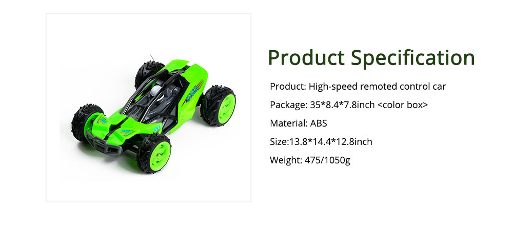 High-speed off-road Competitive Climbing Remote Control Car, Charging Big-foot Racing Car, Child Toy Car 6