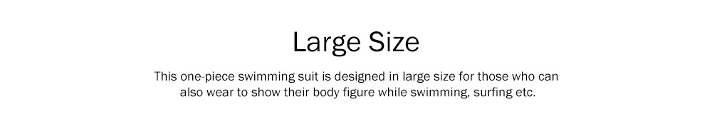 Large Size One-piece Swimming Suit for Women, Digital Printing Flower Patterns One-piece Swimsuits, Top-selling 6
