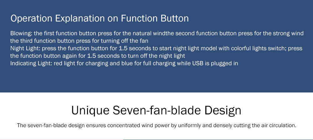 New-style Dual Version Mini Fan for Outdoor Plug In Portable Fan Handheld 2019 Rainbow Color Battery-Operated Nightlight Fan 13