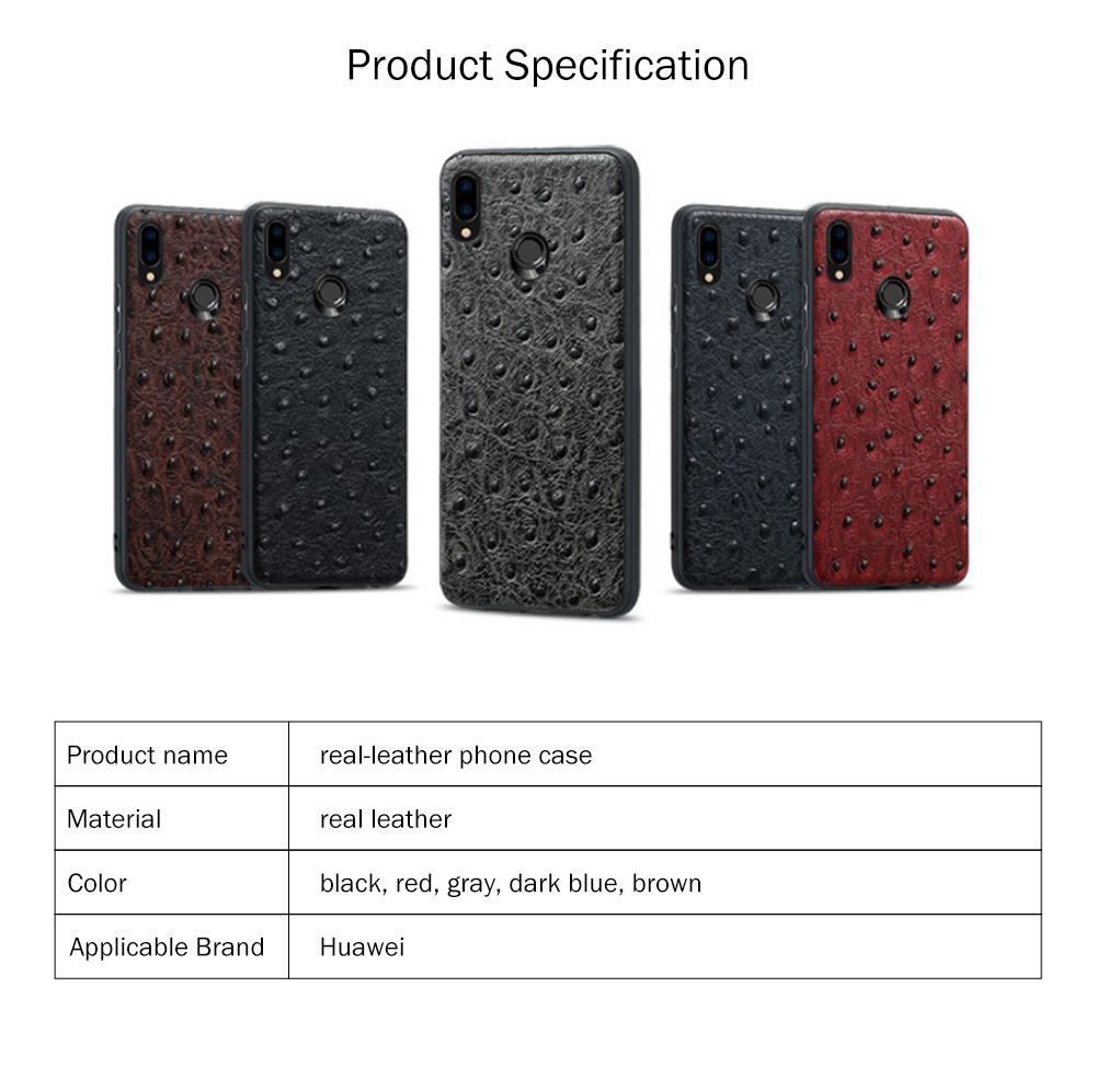 New-Style Leather Phone Case Huawei Nova 3 Anti-smash Leather Case for Nova 3e Complete Protective Shell Handset Accessories 8