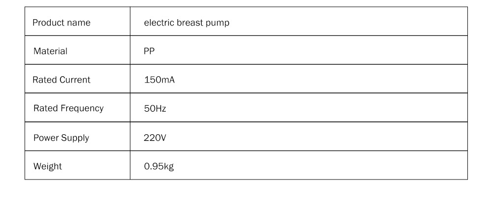 Electric Breast Pump with Breast Massage Function, Portable Strong Absorptive Silent Breast Pump Bra Hands Free Breast Pump 11