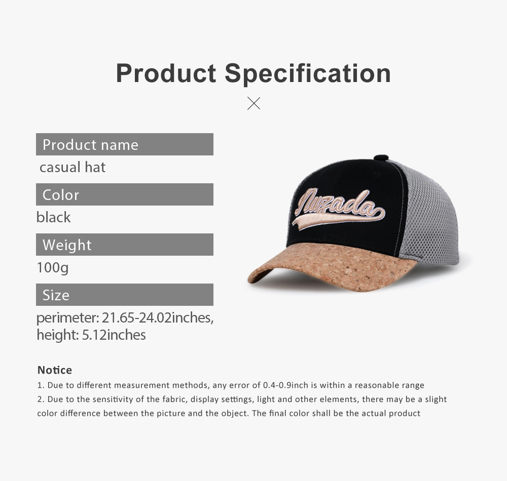 Snapback Hip Hop Baseball Caps, Unisex Letter Embroidered Mesh Cotton Breathable Trucker Hat for Gifts 6