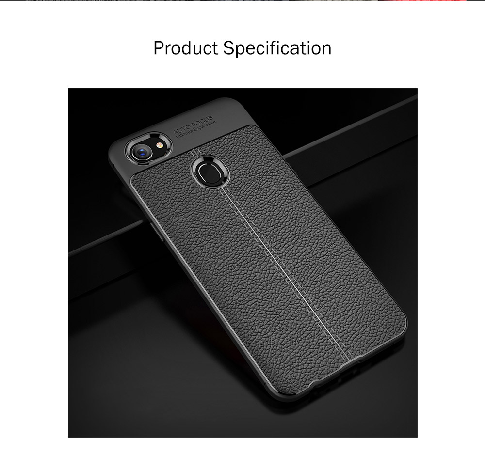 New-style OPPO F7 Litchi Stria Phone Case, Anti-smash Protective Soft Phone Case 6