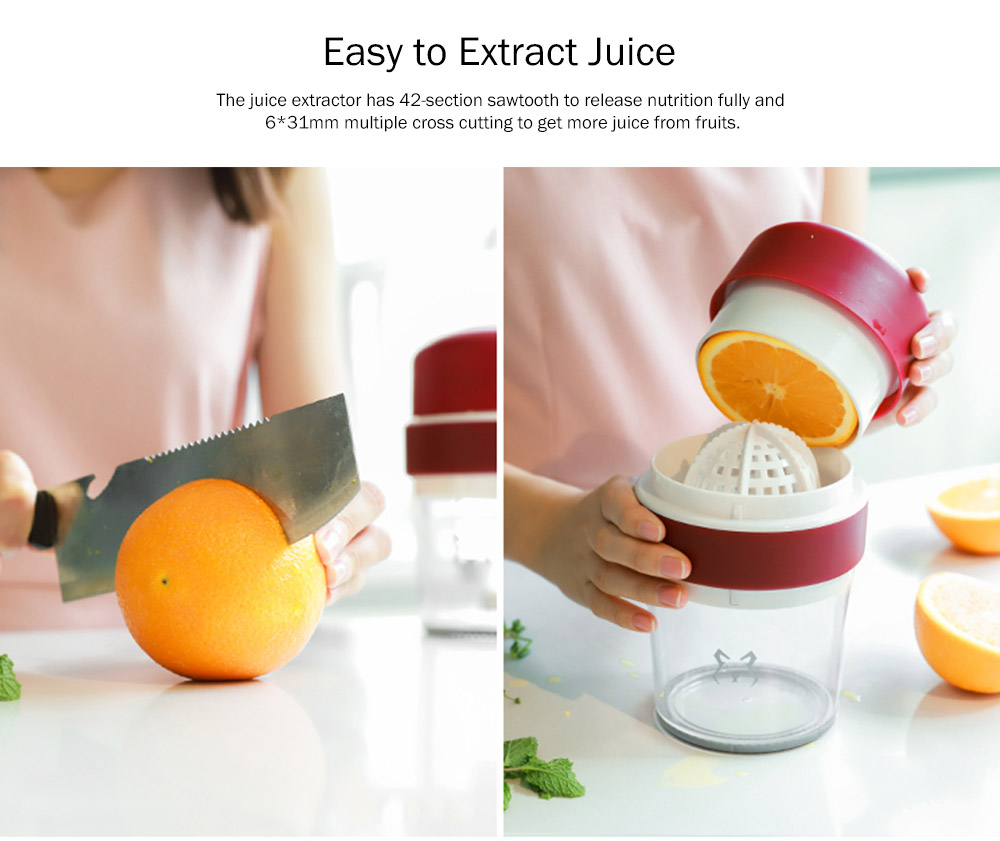 Multifunctional Manual Juice Extractor for Household Use, Small Size Simple Juice Extractors with Maximum Nutritional Value Manual Juicer 3