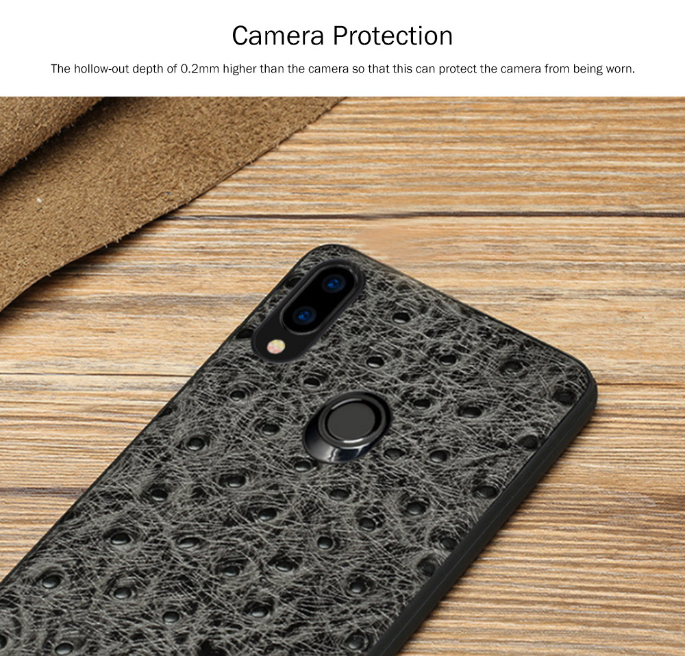 New-Style Leather Phone Case Huawei Nova 3 Anti-smash Leather Case for Nova 3e Complete Protective Shell Handset Accessories 5