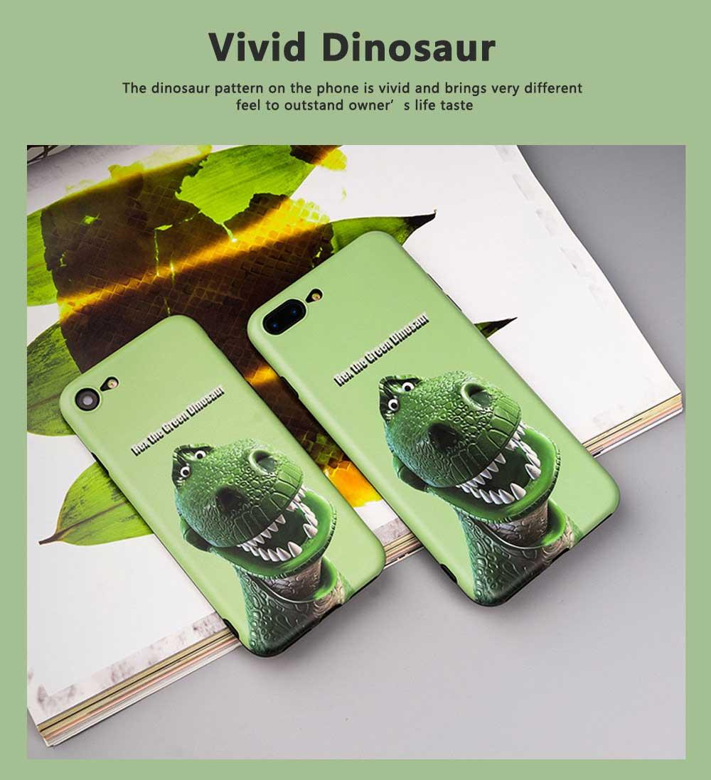 Dinosaur Pattern Creative Phone Case for iPhone 8 plus, iPhone XR,  Trending iPhone 6s/7/7 Plus Phone Cases 5