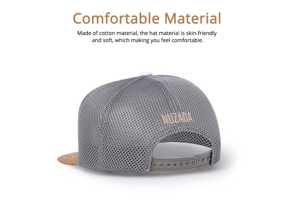 Cotton Hat Headgear with English Letter Pattern Breathable for Women Men Spring Summer Adjustable Cap 3