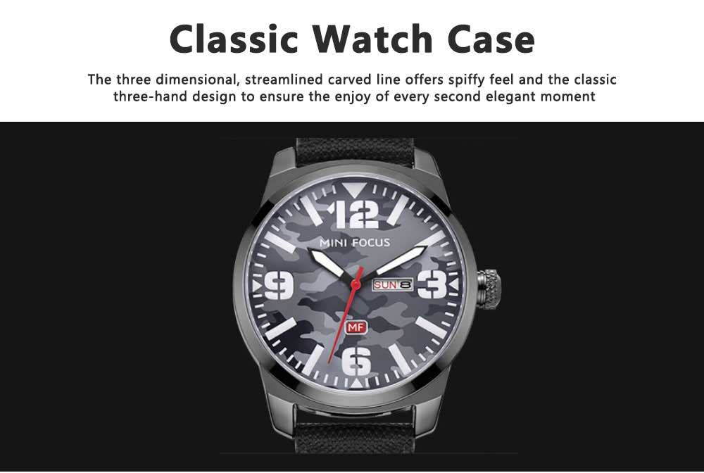 MINI FOCUS Business Watch for Men Luminous Watches with Japanese Movement Mechanism 3