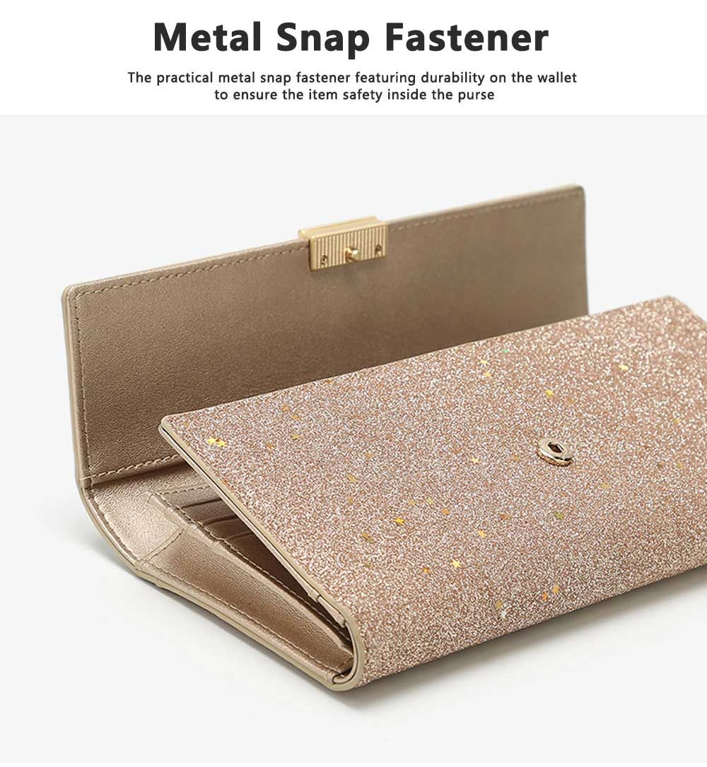 Tri-fold Multi-card Lady Purse in 2019 Fashionable Women Clutch on Clearance Multifunctional Simple Design Leather Purse 2