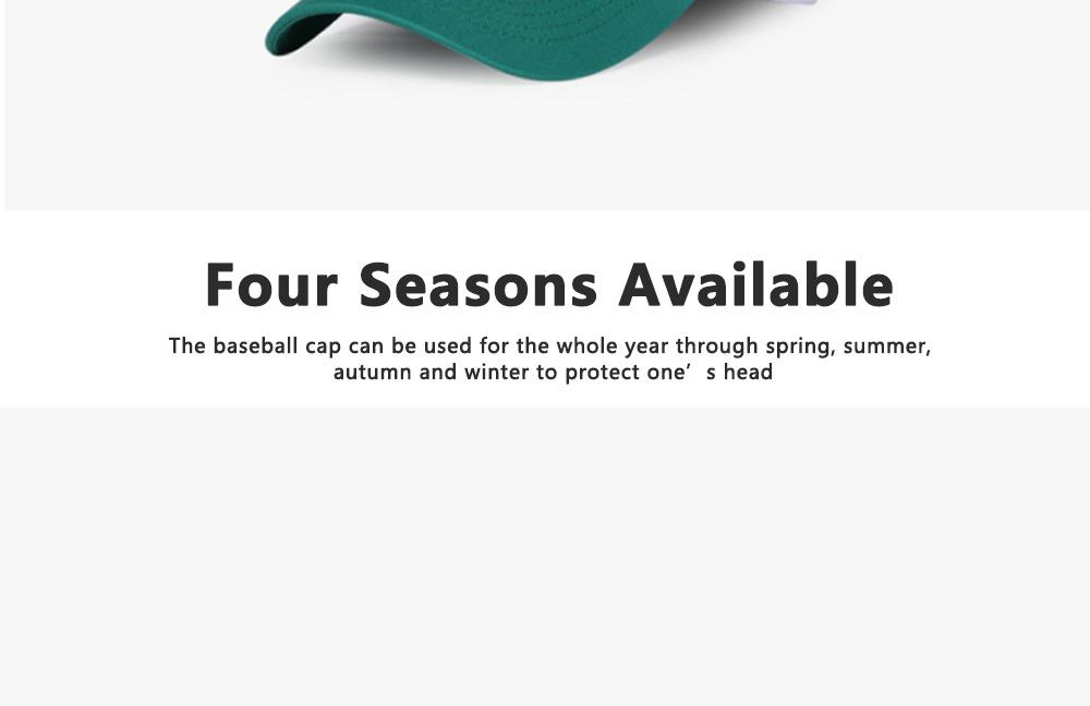 Creative Embroidered Baseball hats for Men, All-match Women Trending Baseball Cap  6