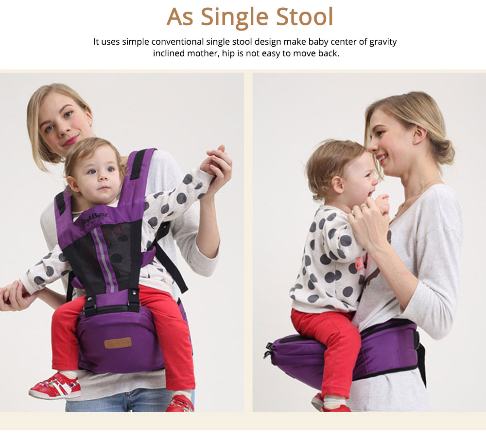 Ergonomic Baby Carrier Baby Sling, Soft & Breathable Baby Carriers Backpack Front and Back for Babies Younger than 36 Months 5