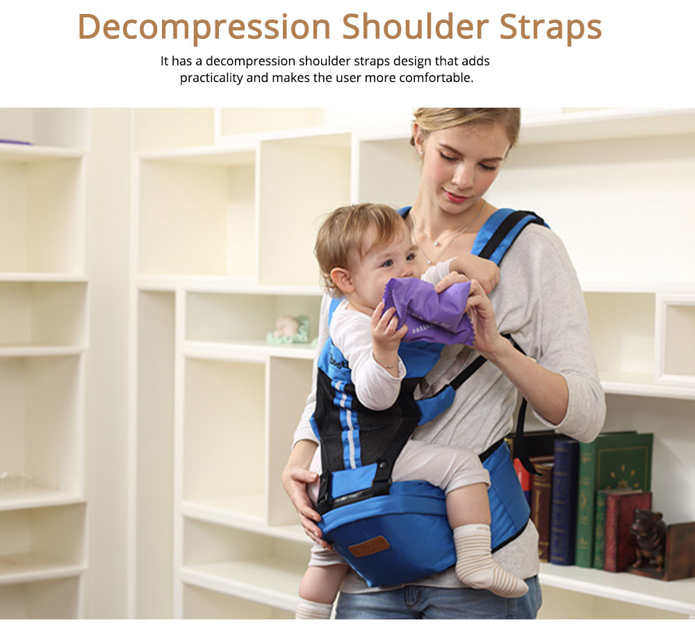 Ergonomic Baby Carrier Baby Sling, Soft & Breathable Baby Carriers Backpack Front and Back for Babies Younger than 36 Months 2