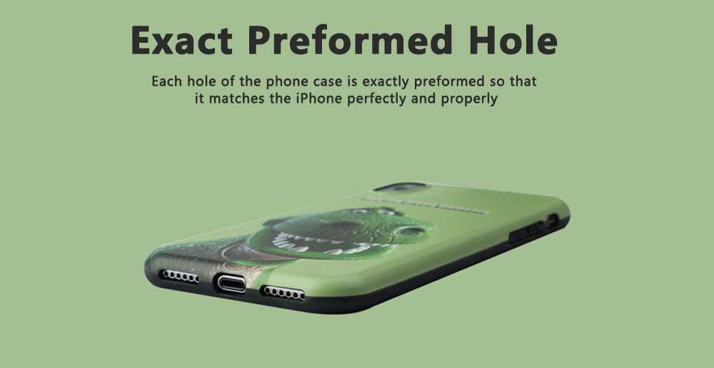 Dinosaur Pattern Creative Phone Case for iPhone 8 plus, iPhone XR,  Trending iPhone 6s/7/7 Plus Phone Cases 3
