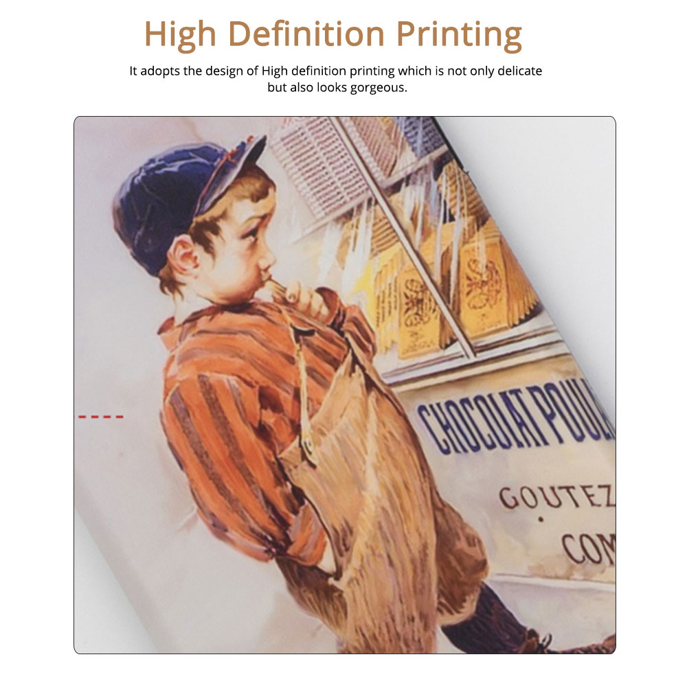 Vintage Oil Painting Mobile Phone Cover, Greedy Little Boy Printing  Phone Case for 6s, 6sp, 7p/8p, XS, XR 1