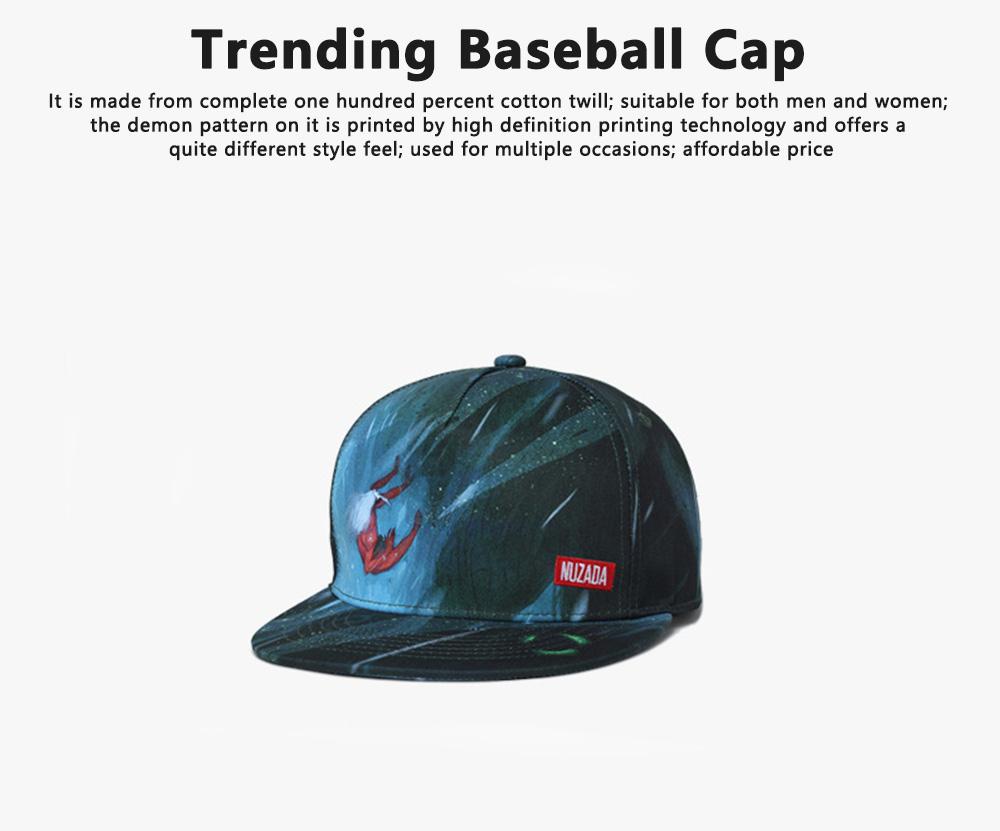 Creative Women Trending Baseball Cap, Simple Men Western Style Baseball Hats 0