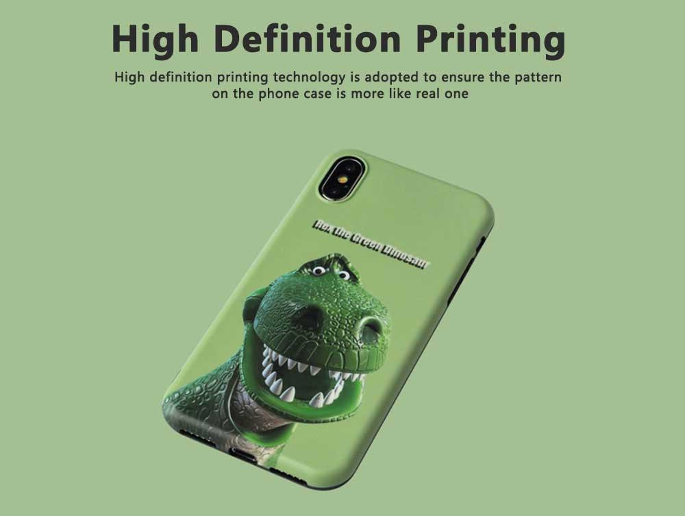 Dinosaur Pattern Creative Phone Case for iPhone 8 plus, iPhone XR,  Trending iPhone 6s/7/7 Plus Phone Cases 4
