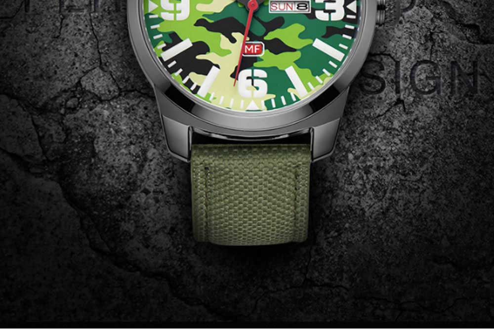 MINI FOCUS Business Watch for Men Luminous Watches with Japanese Movement Mechanism 1