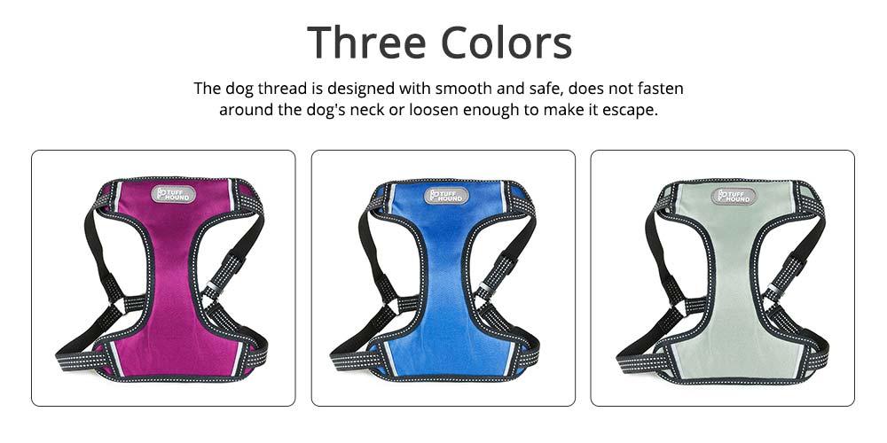 Pet Pectoral Girdle Zinc Nylon Material Straps for Dog Pet Four-point Explosion-proof Shoulder Girdle 5