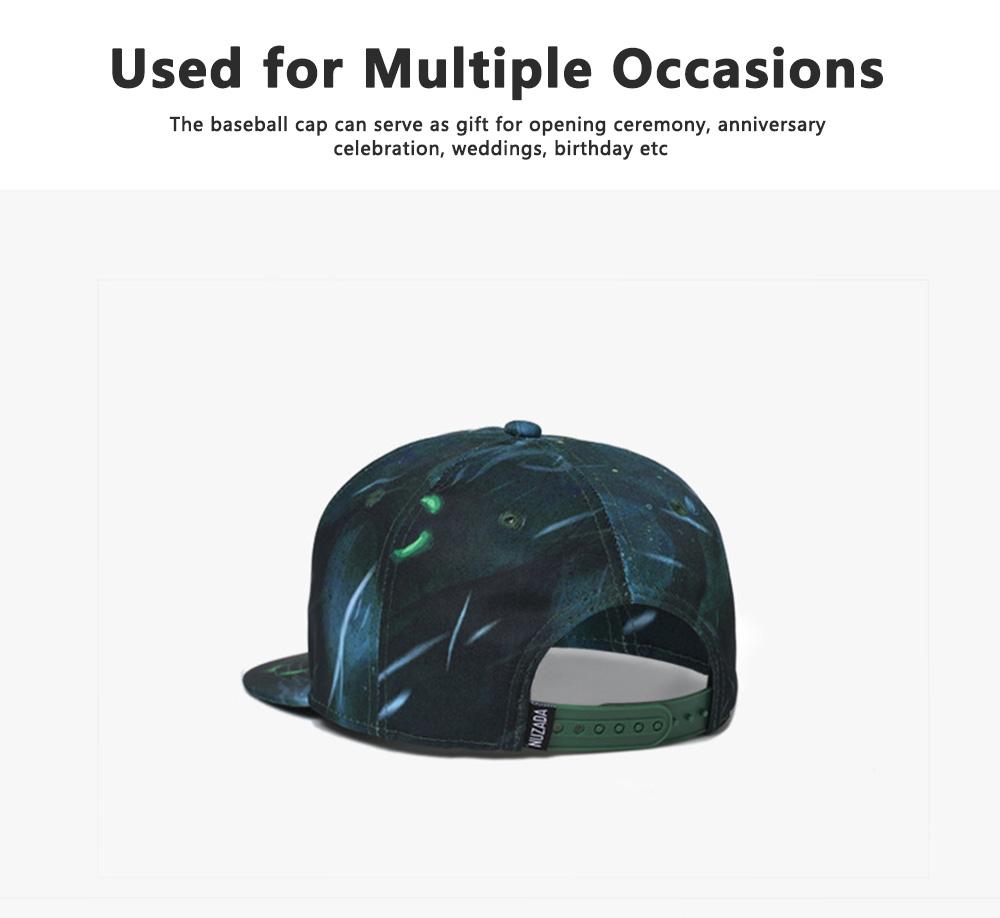 Creative Women Trending Baseball Cap, Simple Men Western Style Baseball Hats 4