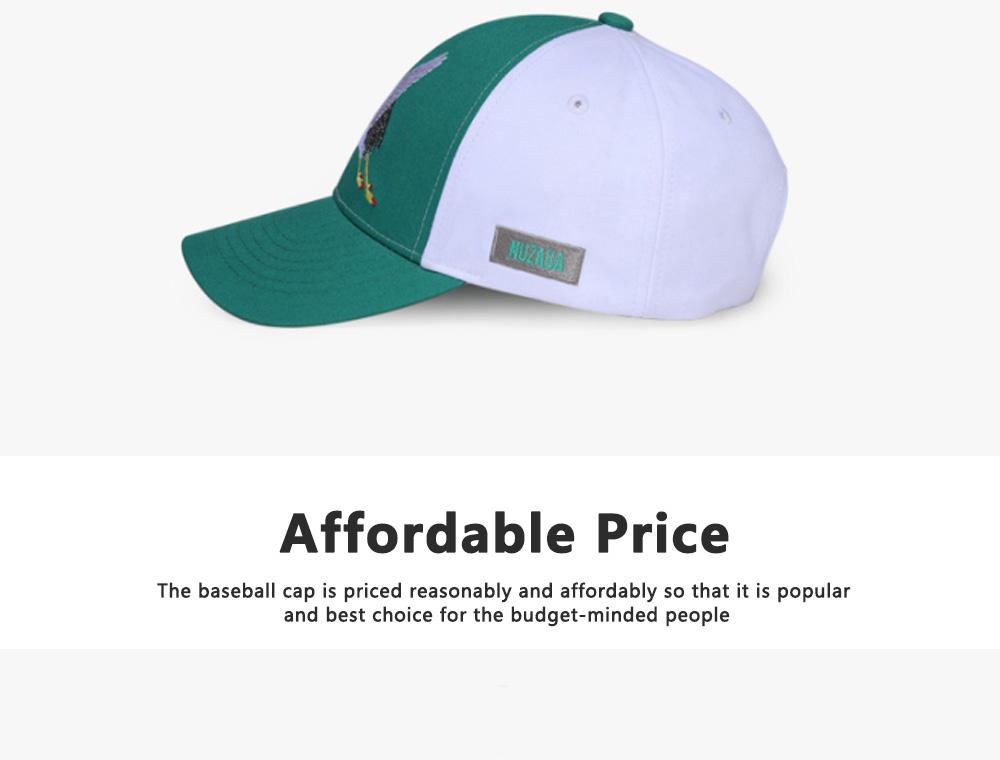 Creative Embroidered Baseball hats for Men, All-match Women Trending Baseball Cap  7