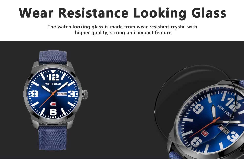 MINI FOCUS Business Watch for Men Luminous Watches with Japanese Movement Mechanism 4