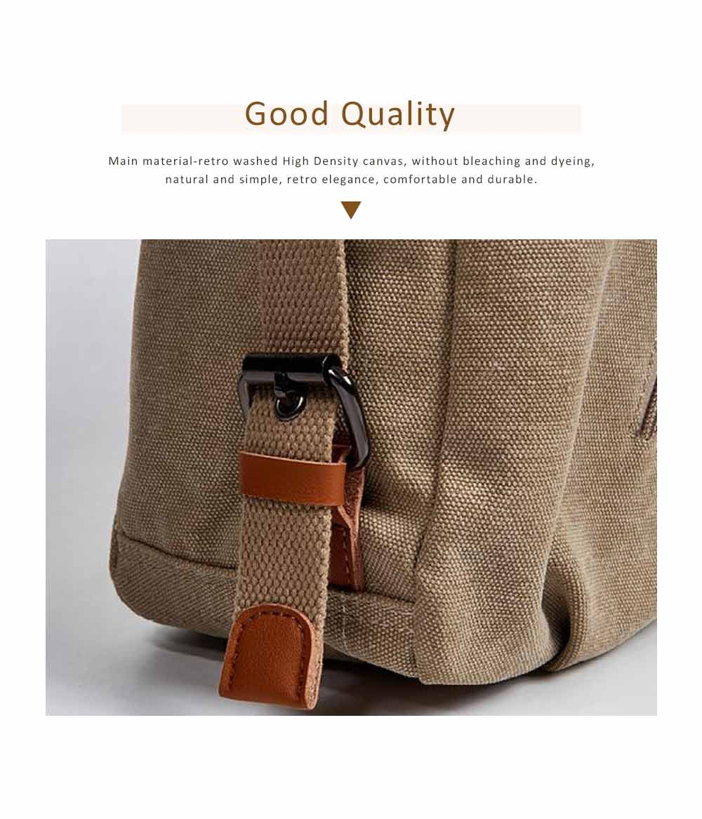 Multifunctional Backpack Shoulder Bag Fashion Casual Canvas Hobo Bags Women Accessories Large Capacity Travel Bag 1