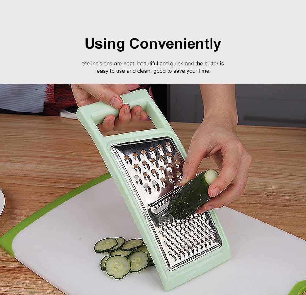Stainless Steel Shredder Convenient Slicer, Three Cutting Methods Cutter Grater for Kitchen Tool 5