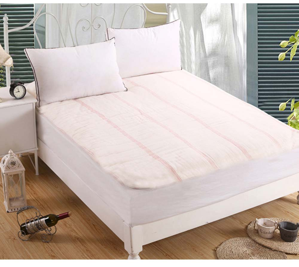 Red Line Reinforced Quilt Premium Cotton Autumn And Winter Quilt Hypoallergenic Soft Warm Covered Quilt Wholesale 2