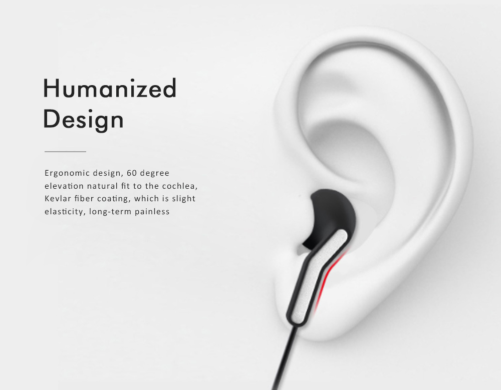 Semi-in-ear Headphones, Stereo Music Headphones, Elbow Socket Student Headphones For Mobile Computer Tablet Universal 1