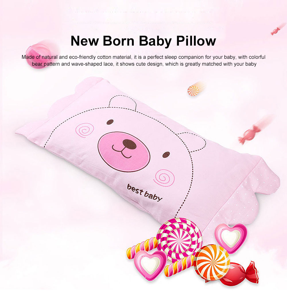 New Born Baby Pillow Neck Care Fixed Shape Design Enlarged Version Baby Care Pillow 0