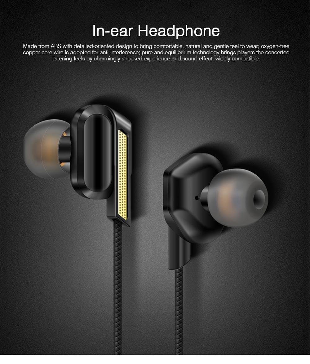 In-Ear Headphones for Original Huawei Phones iPhone Vivo OPPO SoundSport Headphones with Mic Wired In-ear Earphone 0
