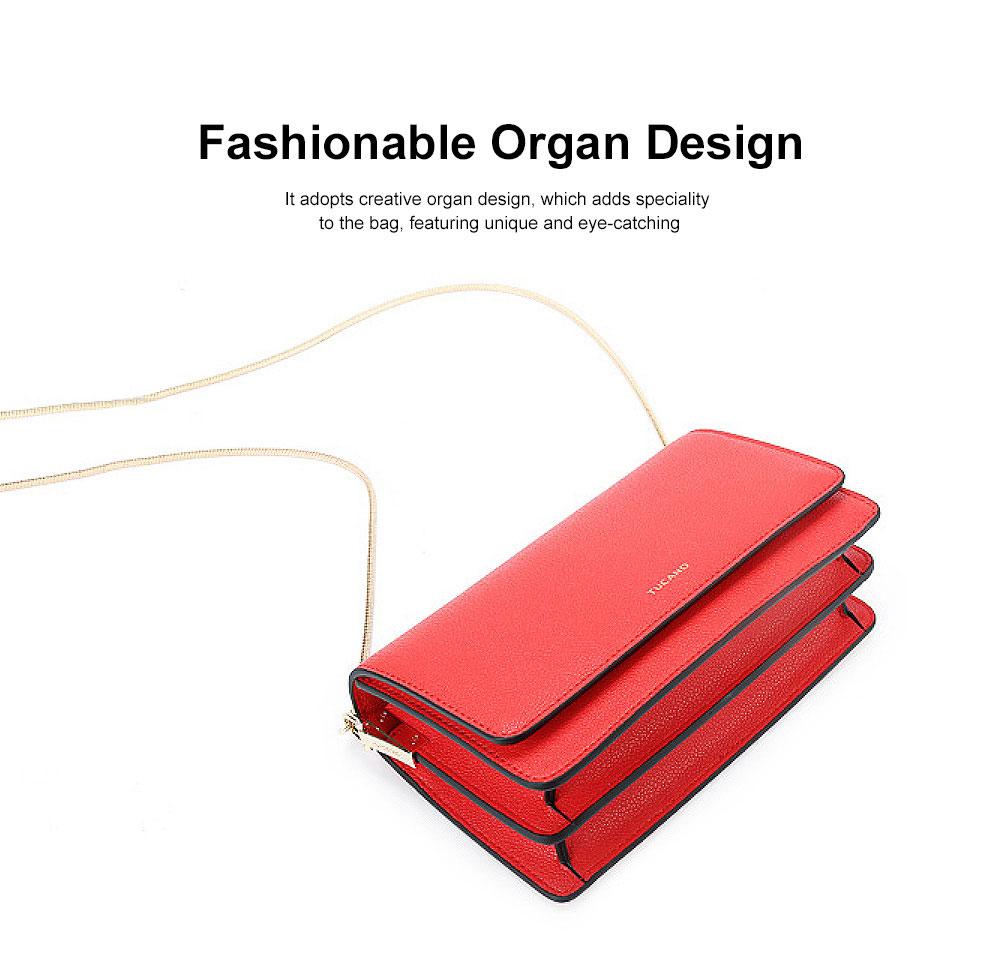 Small Messenger Bags for Women, Crossbody Bag Chain Shoulder Evening Clutch Purse Formal Bag 2