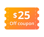 $25 OFF Coupon