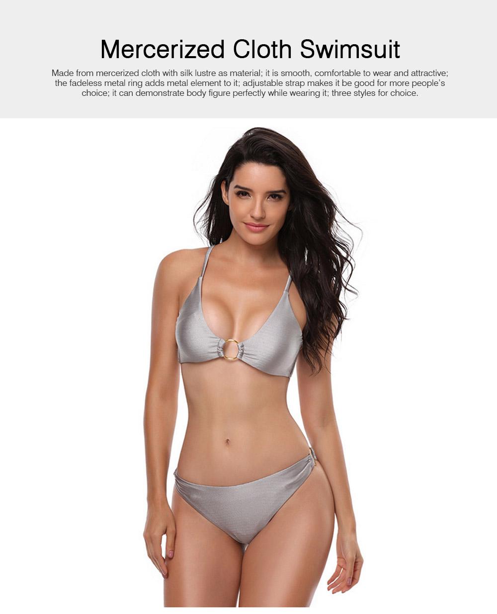 Mercerized Cloth Swimsuits for Women New Style Swimsuit Cover Ups Girls Bikini Swimwear 0