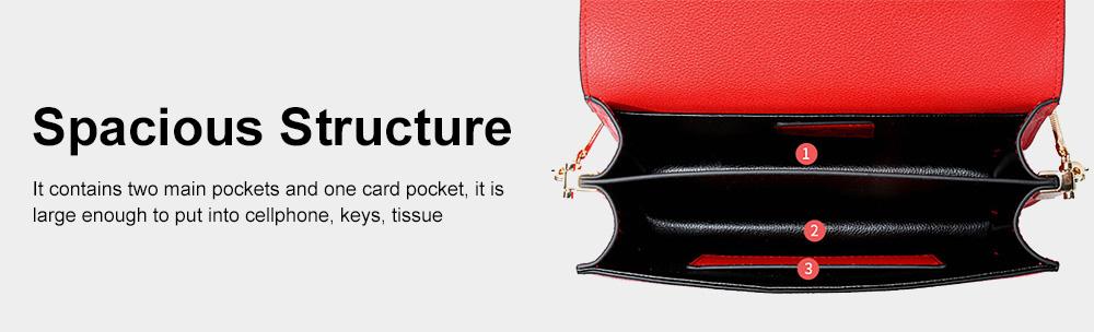 Small Messenger Bags for Women, Crossbody Bag Chain Shoulder Evening Clutch Purse Formal Bag 5