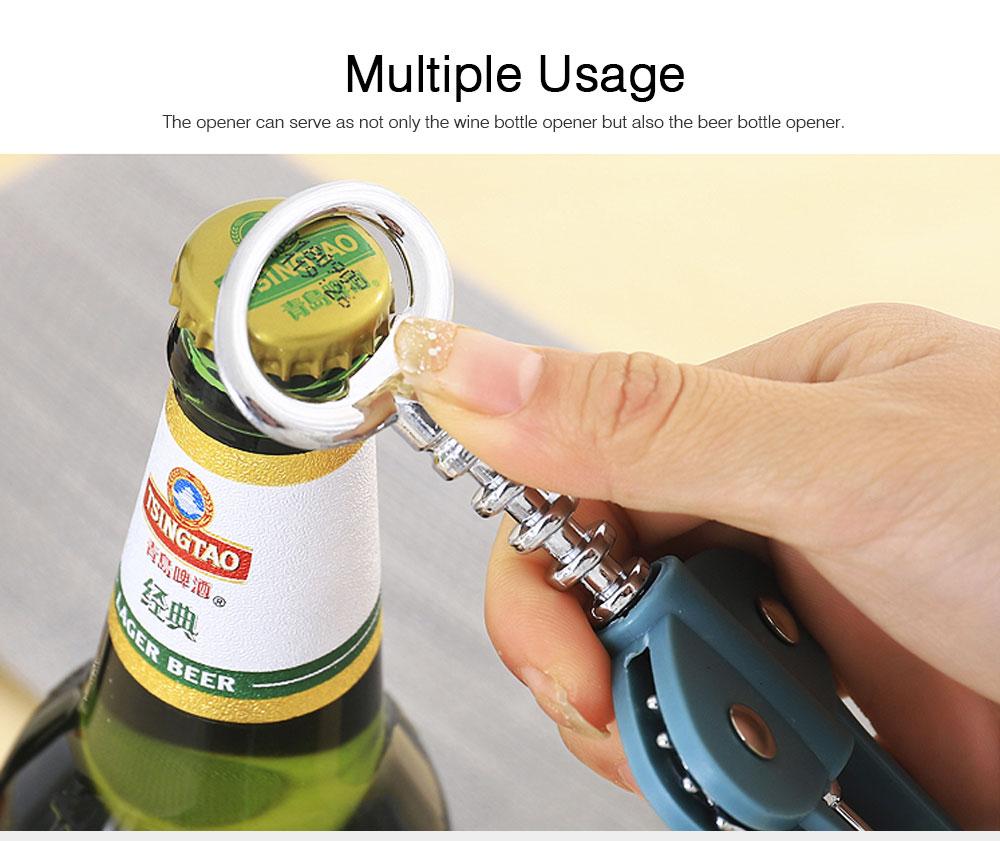 Multipurpose Wine Opener Battery Operated Stainless Beer Opener Household Gadget 6
