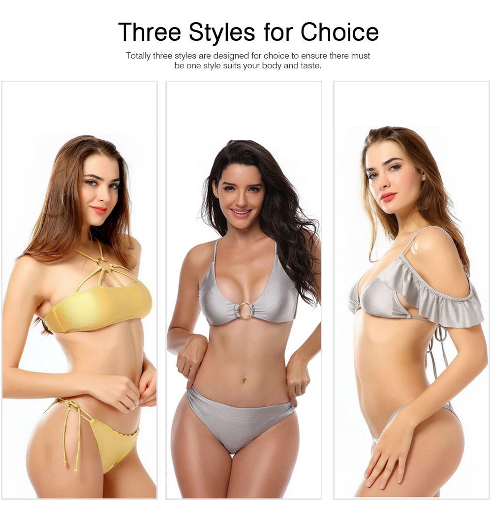 Mercerized Cloth Swimsuits for Women New Style Swimsuit Cover Ups Girls Bikini Swimwear 5