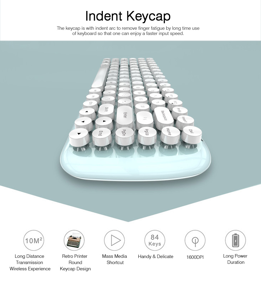 Mechanical Keyboard Kit for Computer Game Mini Keyboard Kit Mini Mouse Kit for Laptop Wireless Keyboard & Mouse Kit  1