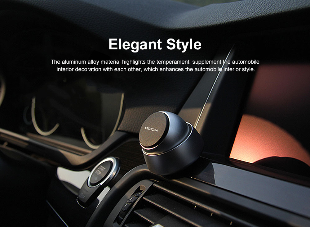 ROCK Phone Holder for Car, Multi-functional Osculum Type Phone Holder for Iphone, Huawei, MIUI 5