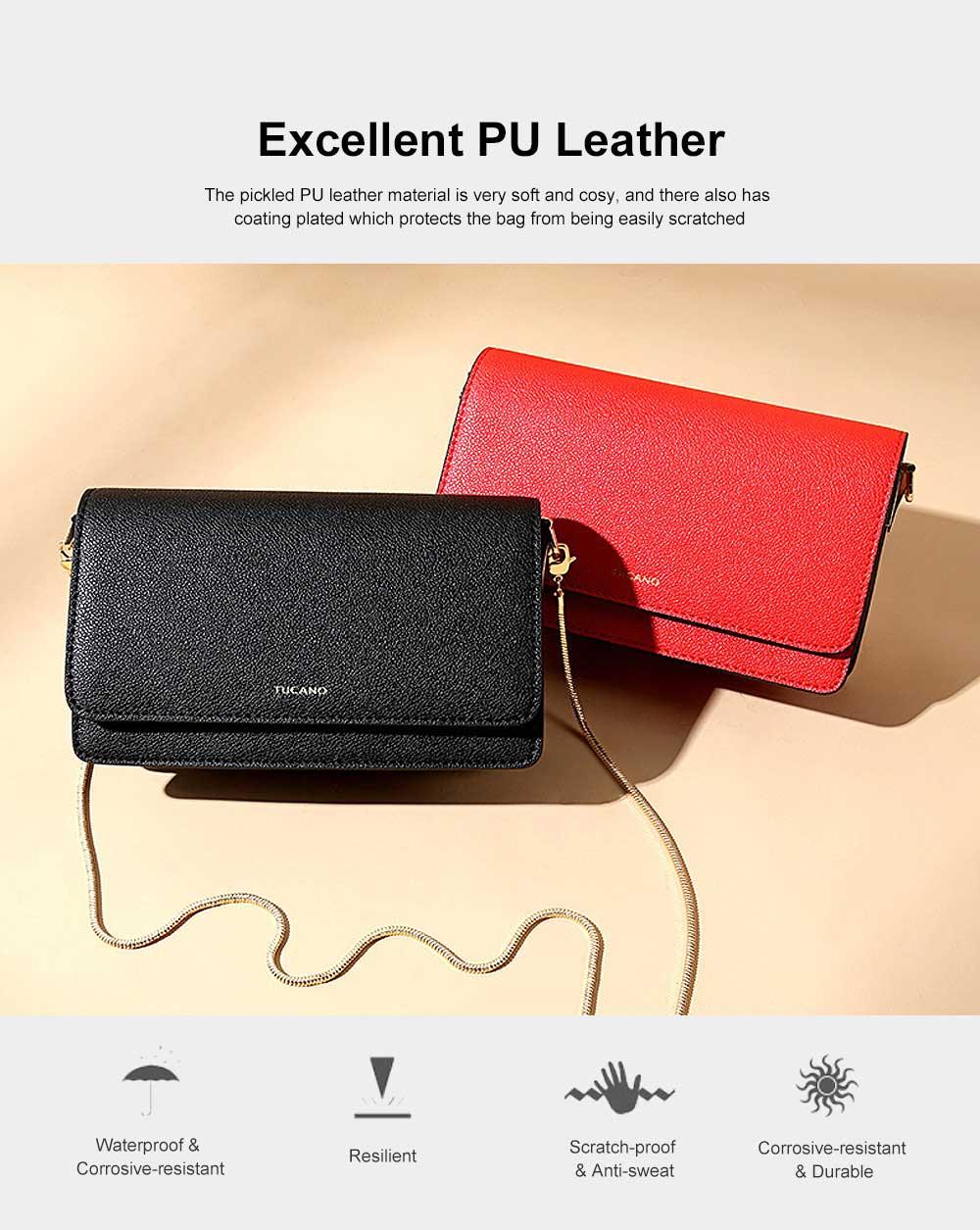 Small Messenger Bags for Women, Crossbody Bag Chain Shoulder Evening Clutch Purse Formal Bag 1