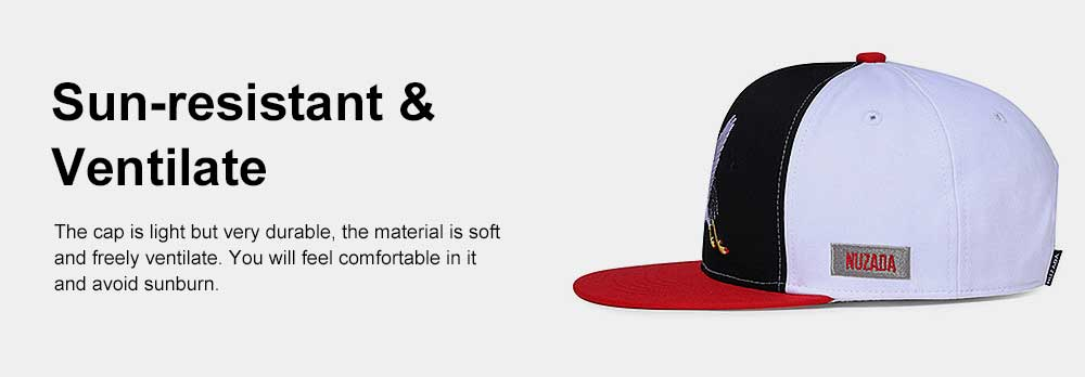 Embroidery Contrast Color Cap, Fashion Baseball Cap for Male & Female 4