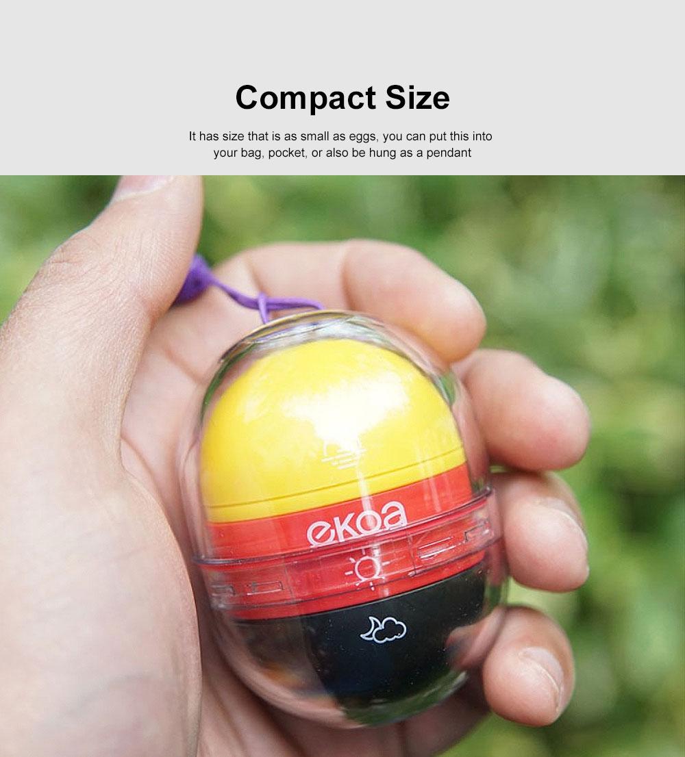 Japanese Carry-on Pillbox Capsule Shape Cute Pill Organizer Portable Pill Case for Vitamin Medicine 2