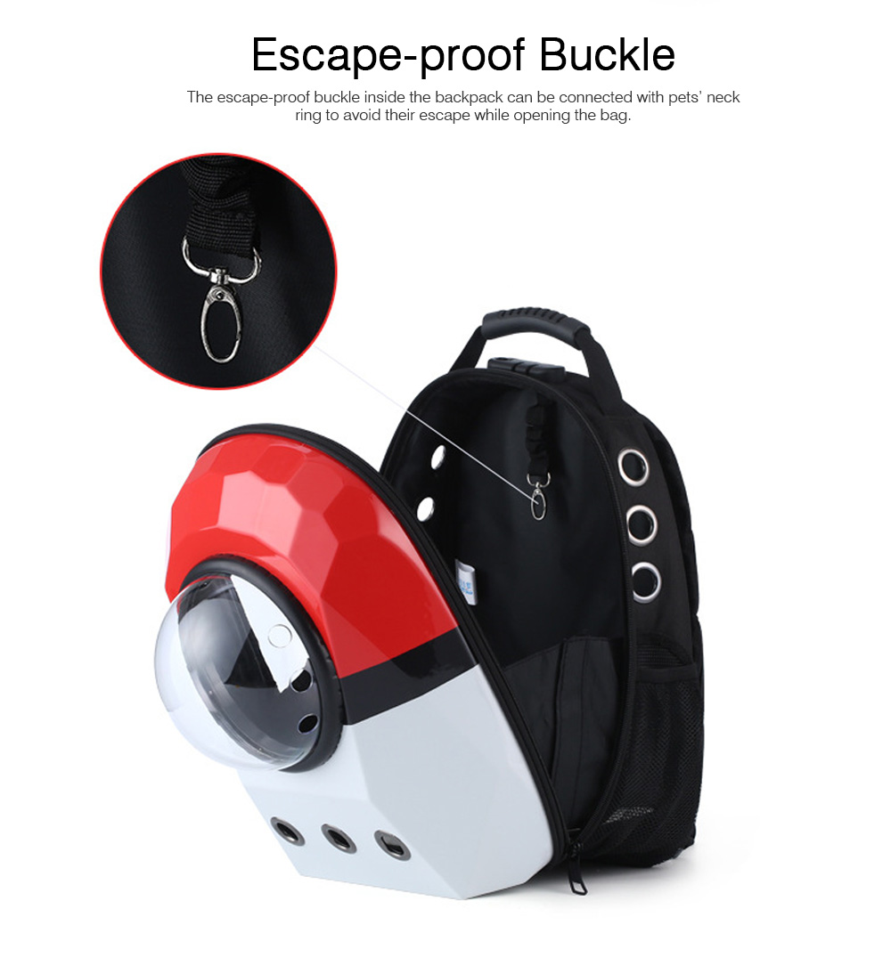 Coded Lock Large Pet Backpack for Dog and Cat Portable Pet Carrier Space Pet Backpack 3