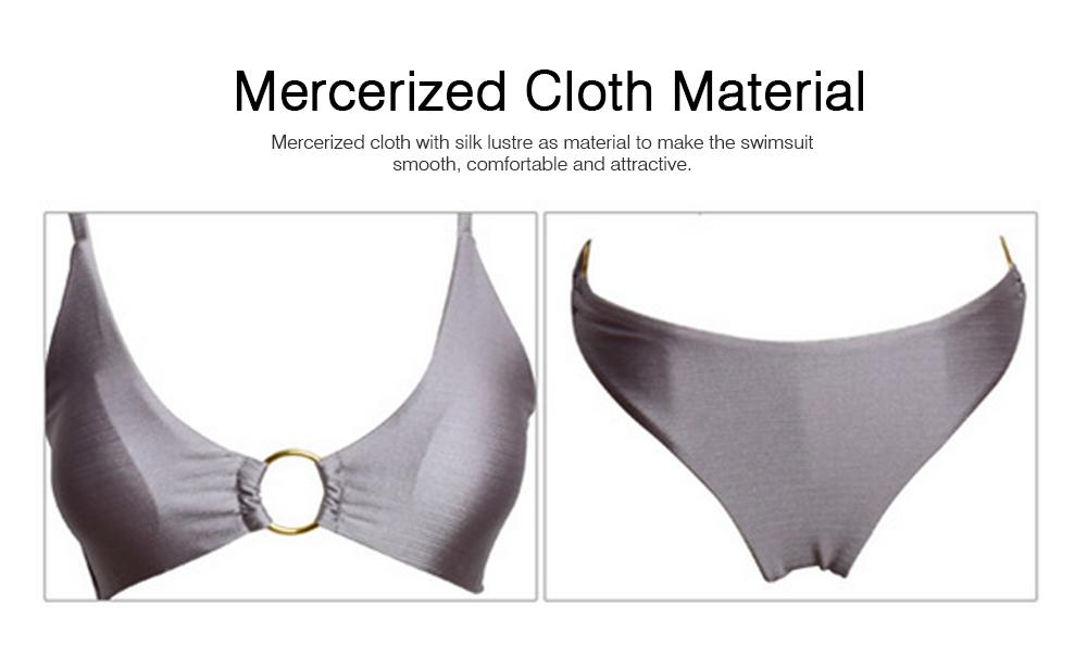 Mercerized Cloth Swimsuits for Women New Style Swimsuit Cover Ups Girls Bikini Swimwear 1