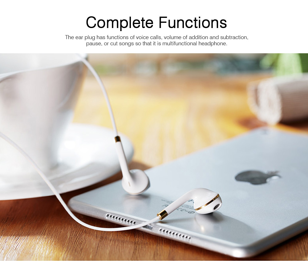 Mega Bass Earphones Universal Use for iPhone Android Computer In Ear Earphones With Mic 4