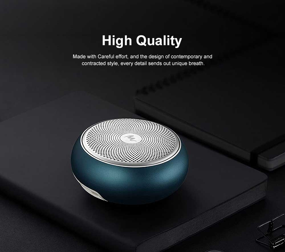Bluetooth Subwoofer Household Mini Sound Box, Portable Wireless Bluetooth Speaker Sound Box Support TF Card AUX MP3 Wav APE Flac 2