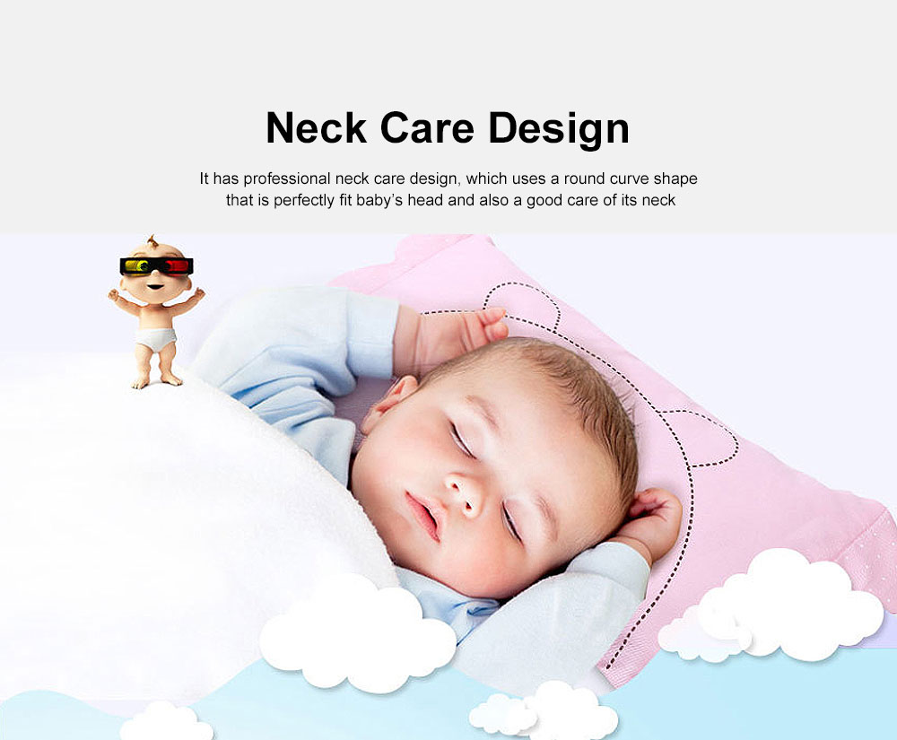 New Born Baby Pillow Neck Care Fixed Shape Design Enlarged Version Baby Care Pillow 5